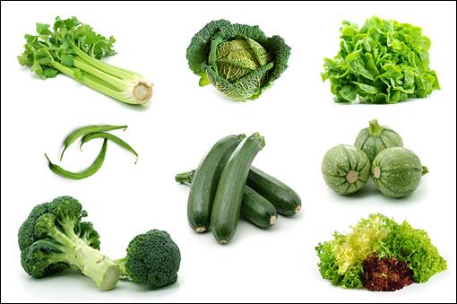 green-vegetables-poster