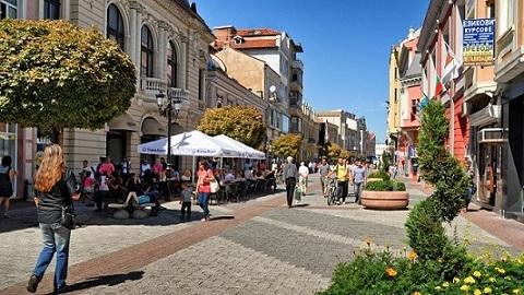 Пловдив е с най-дългата пешеходна улица в Европа