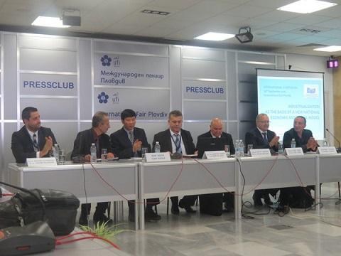 Международен симпозиум за индустриализацията събра икономисти в пресцентъра на Пловдивския панаир