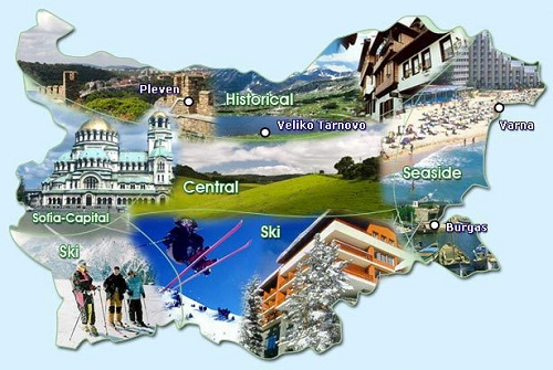 България се обособява на девет туристически района